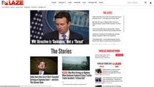 TheBlaze - Image: The Blaze Screenshot 20160514