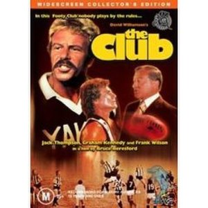 The Club (1980 film) - The Club - (DVD cover)