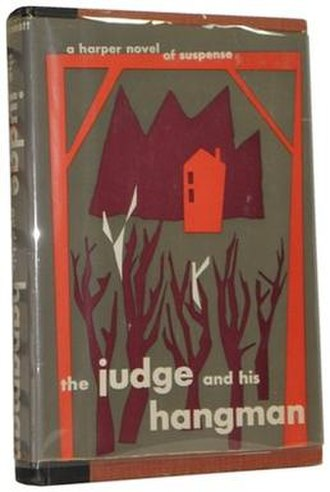 The Judge and His Hangman - First English edition (1955)