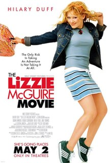 <i>The Lizzie McGuire Movie</i> 2003 film by Jim Fall