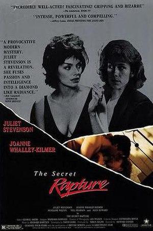 The Secret Rapture (film) - Original poster