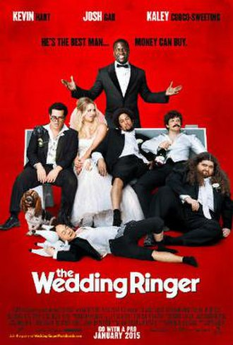 The Wedding Ringer - Theatrical release poster