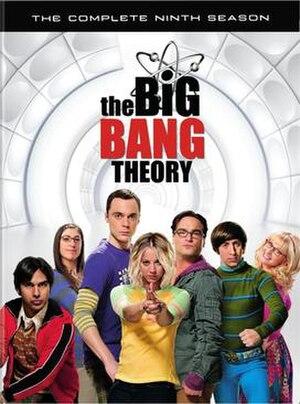 The Big Bang Theory (season 9) - Ninth season DVD cover art
