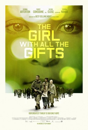The Girl with All the Gifts (film) - Theatrical release poster