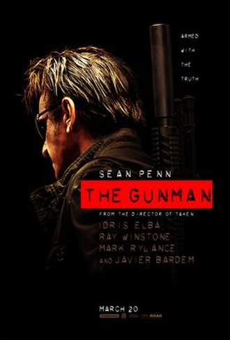 The Gunman (film) - Theatrical release poster