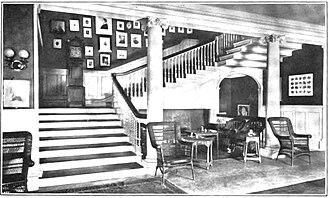 Harvard Club of New York - Image: The Harvard Club Stair 1906