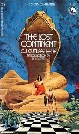 The Lost Continent: The Story of Atlantis - Cover from the Ballantine paperback edition of 1972.