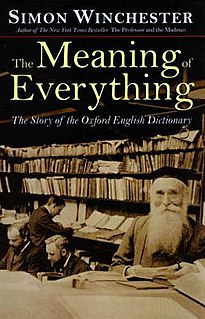 <i>The Meaning of Everything</i> book by Simon Winchester