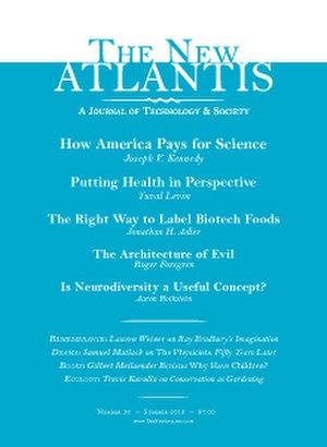 The New Atlantis (journal) - Image: The New Atlantis Cover Summer 2012