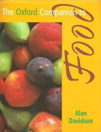 The Oxford Companion to Food - Cover of the first edition
