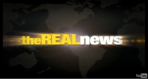 The Real News - Image: The Real News Network You Tube