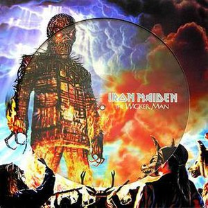 The Wicker Man (song) - Image: The Wicker Man Single Picture Disc