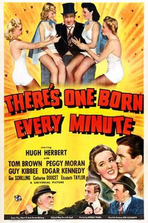 There's One Born Every Minute - Poster of There's One Born Every Minute