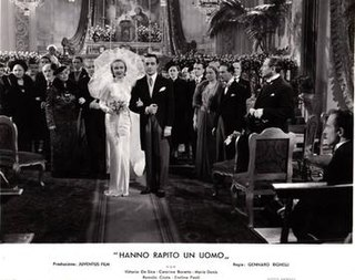<i>Theyve Kidnapped a Man</i> 1938 film by Gennaro Righelli