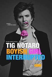 <i>Tig Notaro: Boyish Girl Interrupted</i> album