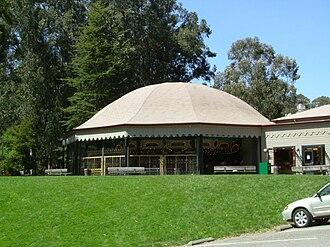 Tilden Park Merry-Go-Round - Merry-Go-Round Building