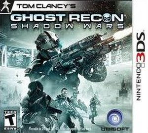 Tom Clancy's Ghost Recon: Shadow Wars - Image: Tom Clancy's Ghost Recon Shadow Wars cover art