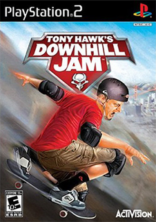 <i>Tony Hawks Downhill Jam</i> 2006 video game