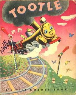 <i>Tootle</i> Book by Gertrude Crampton