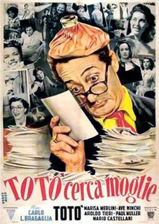<i>Toto Looks for a Wife</i> 1950 Italian comedy film directed by Carlo Ludovico Bragaglia