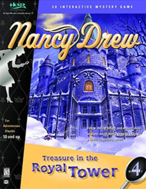 Nancy Drew: Treasure in the Royal Tower - Image: Treasure in the Royal Tower Coverart