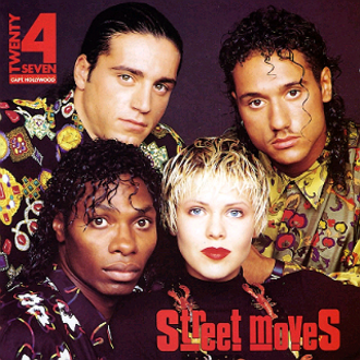 Twenty 4 Seven - ''Street Moves'' cover art (1989)