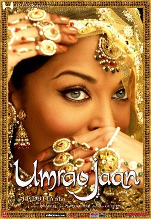 Umrao Jaan (2006 film) - Theatrical release poster