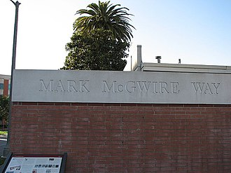USC Trojans - Dedeaux Field is located on Mark McGwire Way