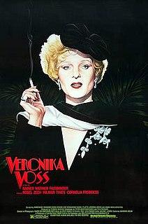 <i>Veronika Voss</i> 1982 film by Rainer Werner Fassbinder