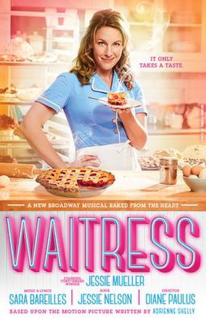 Waitress (musical) - 2016 Broadway poster