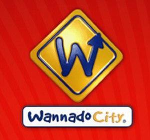 "Wannado City - The Wannado City ""sign"" logo."