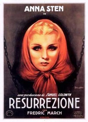 We Live Again - Italian film poster