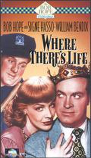 Where There's Life - Cover from VHS release