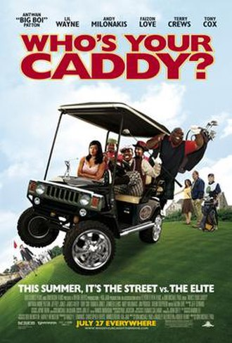 Who's Your Caddy? - Theatrical release poster