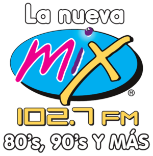 XHDM-FM - XHDM-FM logo when it carried ACIR's Mix format
