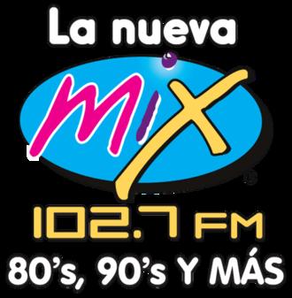 XHDM-FM - XHDM-FM logo when it carried ACIR's Mix format