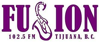 XHUAN-FM - Image: XHUAN fusion 102.5 logo