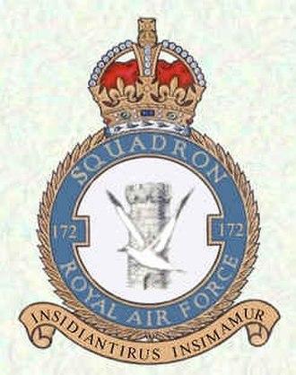 No. 172 Squadron RAF - Image: 172 Squadron Logo