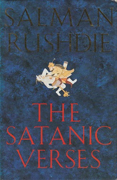 Picture of a book: The Satanic Verses