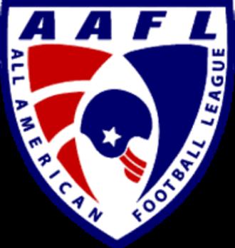 All American Football League - Image: AAFL Logo