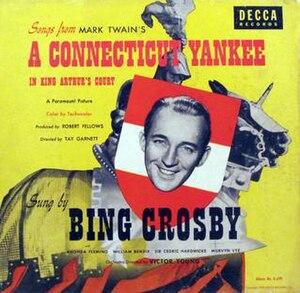 A Connecticut Yankee in King Arthur's Court (album) - Image: A Connecticut Yankee in King Arthur's Court (Bing Crosby album) (album cover)