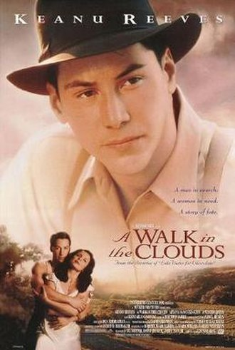 A Walk in the Clouds - Theatrical release poster