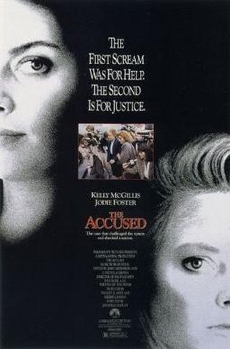 The Accused (1988 film) - Theatrical release poster