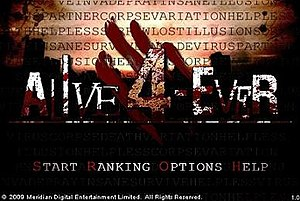 Alive 4-Ever - Image: Alive 4 ever title screen