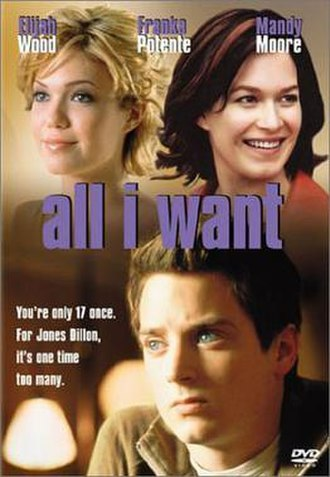 All I Want (film) - DVD cover