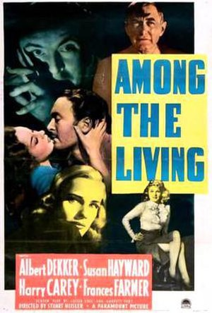 Among the Living (1941 film) - Theatrical release poster