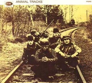 <i>Animal Tracks</i> (British album) 1965 studio album by The Animals
