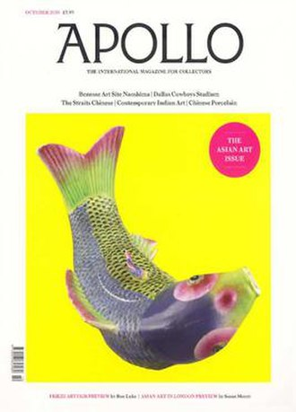 Apollo (magazine) - Apollo magazine October 2010 cover