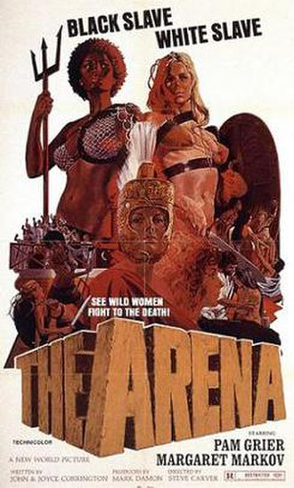 The Arena (1974 film) - Theatrical release poster