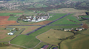 Cotswold Gliding Club - Aston Down airfield from the south